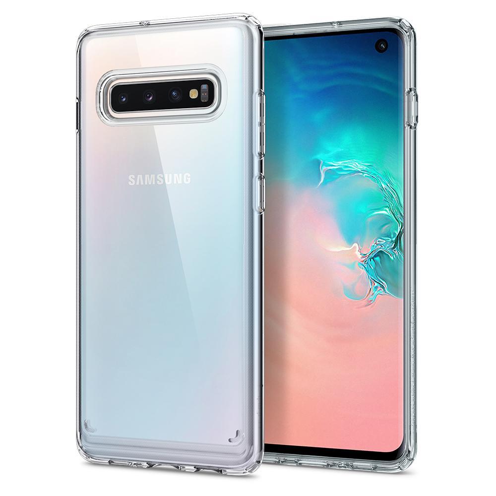 Spigen Samsung Galaxy S10 Skal Ultra Hybrid Crystal Clear