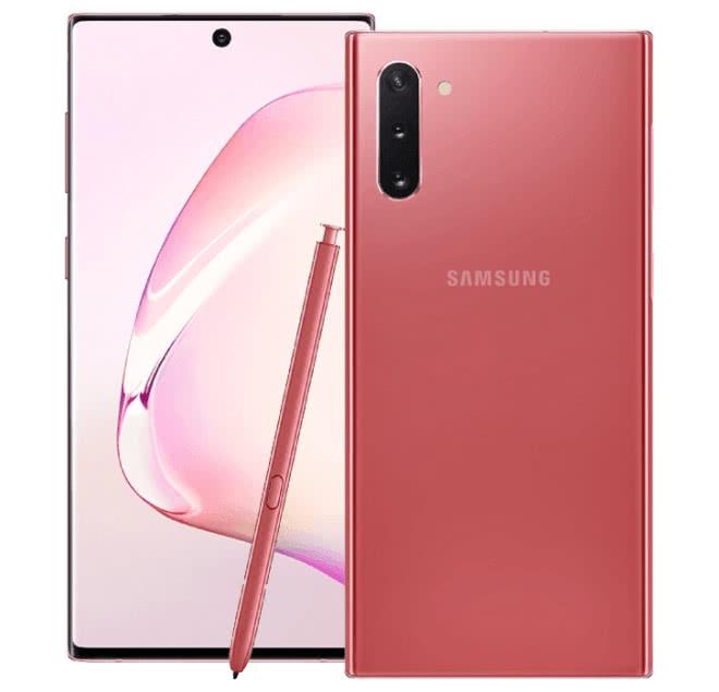 Samsung Galaxy Note 10 Rosa